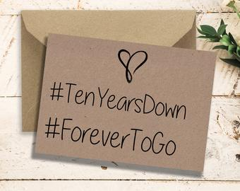 Ten year card